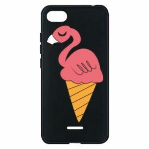 Etui na Xiaomi Redmi 6A Flamingo ice cream