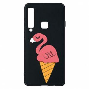 Etui na Samsung A9 2018 Flamingo ice cream