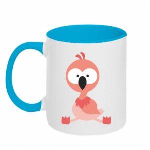Kubek dwukolorowy Flamingo