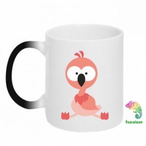 Kubek-kameleon Flamingo