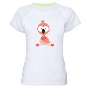 Women's sports t-shirt Flamingo