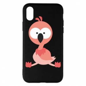 Etui na iPhone X/Xs Flamingo