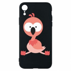 Etui na iPhone XR Flamingo