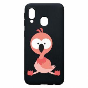 Samsung A40 Case Flamingo