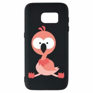 Phone case for Samsung S7 Flamingo