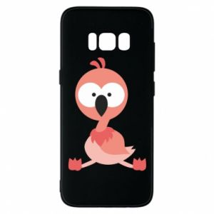 Phone case for Samsung S8 Flamingo