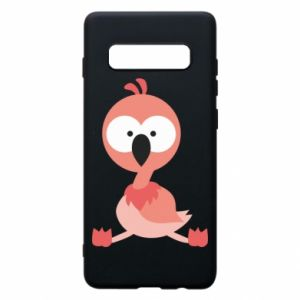 Phone case for Samsung S10+ Flamingo