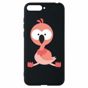 Phone case for Huawei Y6 2018 Flamingo