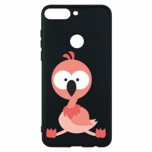 Phone case for Huawei Y7 Prime 2018 Flamingo