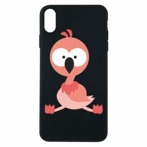 Etui na iPhone Xs Max Flamingo