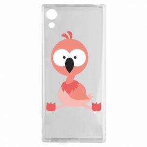 Sony Xperia XA1 Case Flamingo