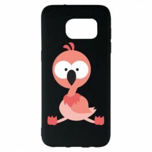 Samsung S7 EDGE Case Flamingo