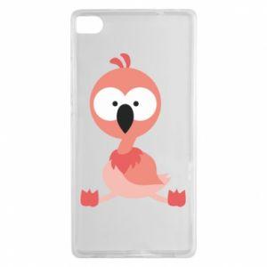 Huawei P8 Case Flamingo