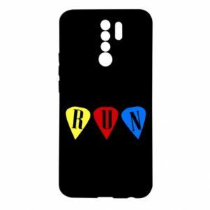 Etui na Xiaomi Redmi 9 Flashlights RUN