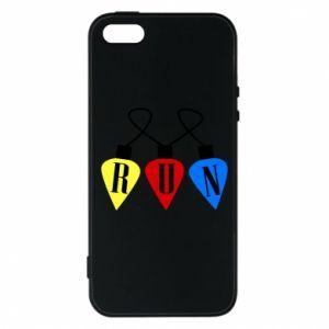 Phone case for iPhone 5/5S/SE Flashlights RUN
