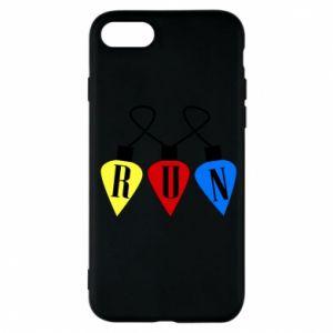 Phone case for iPhone 7 Flashlights RUN