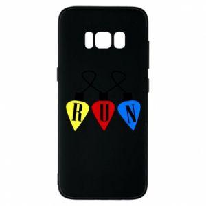 Phone case for Samsung S8 Flashlights RUN