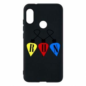 Phone case for Mi A2 Lite Flashlights RUN