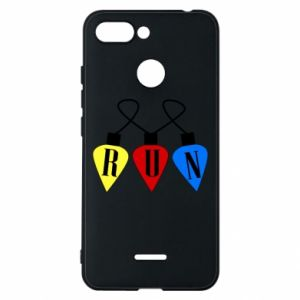 Phone case for Xiaomi Redmi 6 Flashlights RUN
