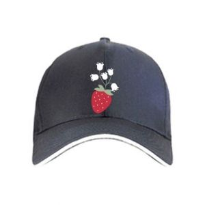 Czapka Flowering strawberries