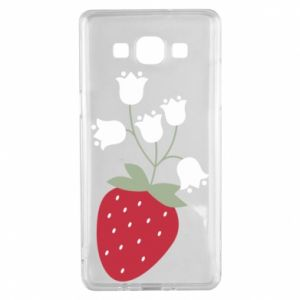 Etui na Samsung A5 2015 Flowering strawberries