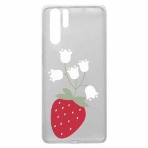 Etui na Huawei P30 Pro Flowering strawberries