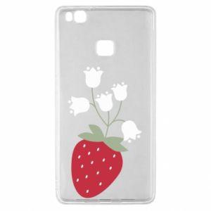 Etui na Huawei P9 Lite Flowering strawberries