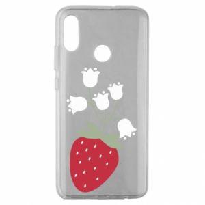 Etui na Huawei Honor 10 Lite Flowering strawberries