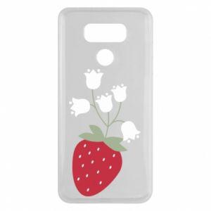 Etui na LG G6 Flowering strawberries
