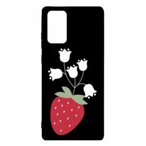 Etui na Samsung Note 20 Flowering strawberries