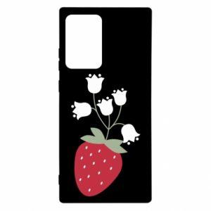 Etui na Samsung Note 20 Ultra Flowering strawberries