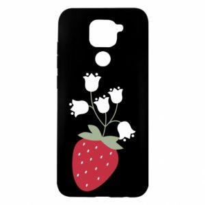 Etui na Xiaomi Redmi Note 9/Redmi 10X Flowering strawberries