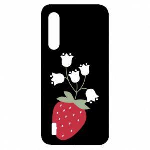 Etui na Xiaomi Mi9 Lite Flowering strawberries