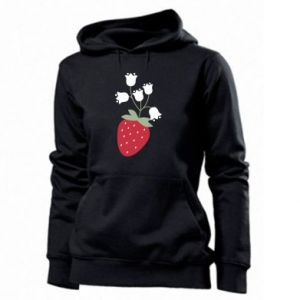 Bluza damska Flowering strawberries