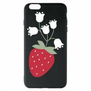 Etui na iPhone 6 Plus/6S Plus Flowering strawberries