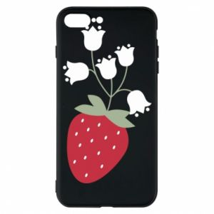 Etui do iPhone 7 Plus Flowering strawberries