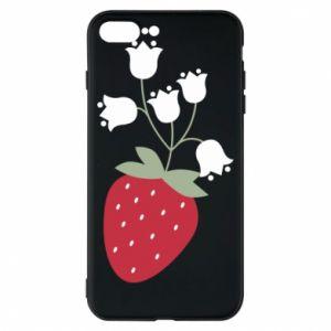 Etui na iPhone 8 Plus Flowering strawberries
