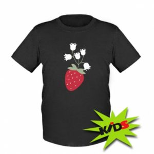 Koszulka dziecięca Flowering strawberries