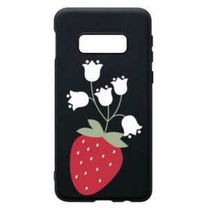 Etui na Samsung S10e Flowering strawberries