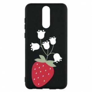 Etui na Huawei Mate 10 Lite Flowering strawberries