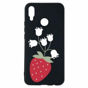 Etui na Huawei P Smart Plus Flowering strawberries