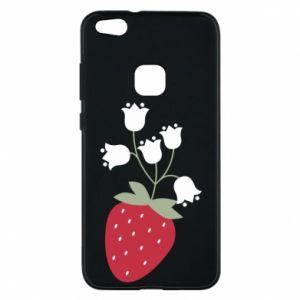 Etui na Huawei P10 Lite Flowering strawberries