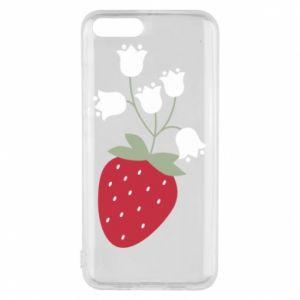 Etui na Xiaomi Mi6 Flowering strawberries