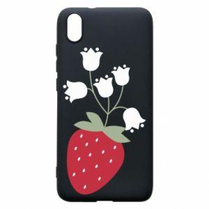 Etui na Xiaomi Redmi 7A Flowering strawberries