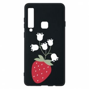 Etui na Samsung A9 2018 Flowering strawberries