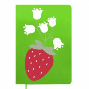 Notes Flowering strawberries