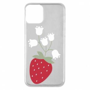 Etui na iPhone 11 Flowering strawberries