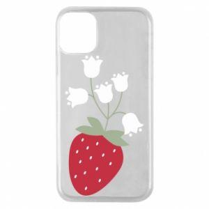 Etui na iPhone 11 Pro Flowering strawberries