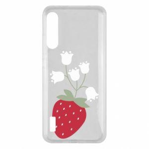 Etui na Xiaomi Mi A3 Flowering strawberries