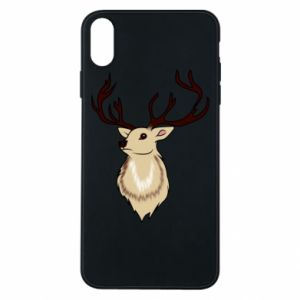 iPhone Xs Max Case Fluffy deer